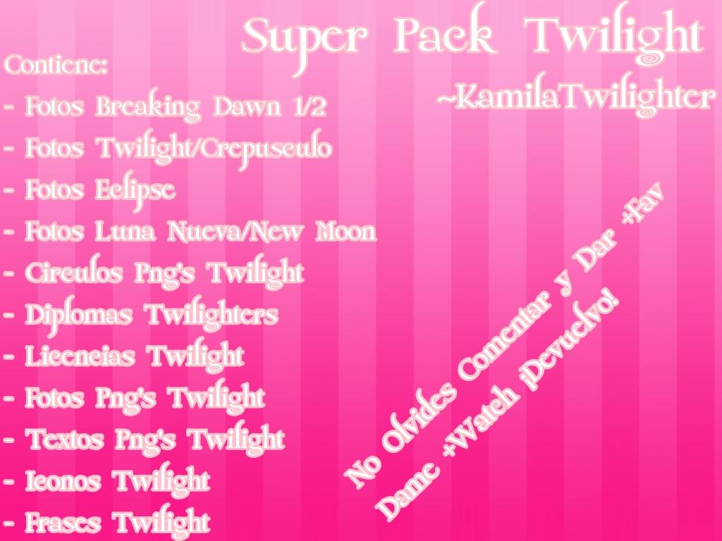 Fco Twilight Frases Crepusculo: Super Pack Twilight By KamilaTwilighter On DeviantArt
