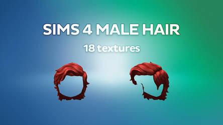 MMD Sims 4 Male Hair [DL]