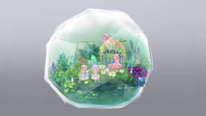 Fairies in the terrarium