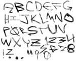 Alphabet Brushes 1
