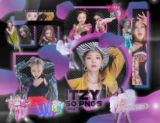 ITZY LOCO PNG PACK #234