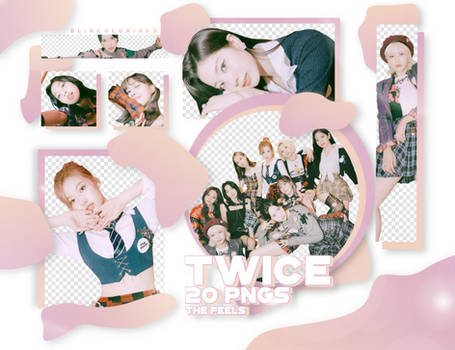 TWICE The Feels 1 PNG PACK #235