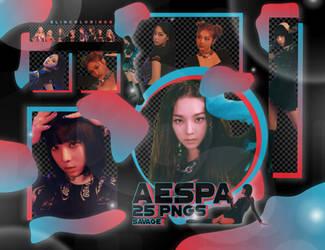AESPA SAVAGE PNG PACK #239