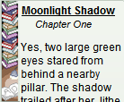 Moonlight Shadow (2015): Chapter One by Teela-Y