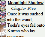 Moonlight Shadow (2015): Chapter Five by Teela-Y