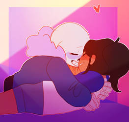 commish:: so this is love (gif)