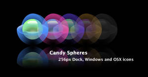 Candy Spheres by lujano