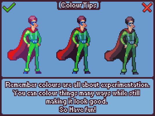 Colour Tips - Pixel Art Tutorial[gif]