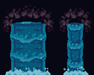Fully tileable waterfall for Tiny Thor