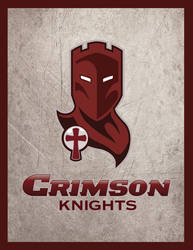 Crimson Knights logo by goodmonsterguy
