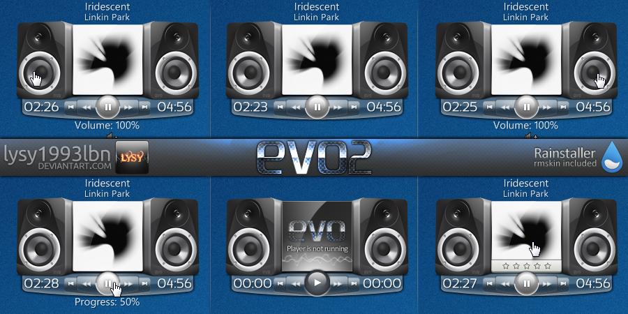 EVO2 Now Playing by lysy1993lbn