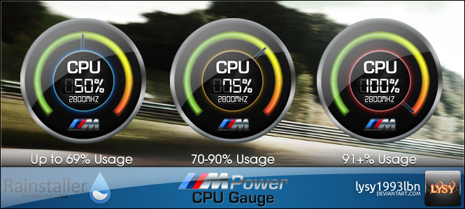 M Power - CPU Gauge by lysy1993lbn