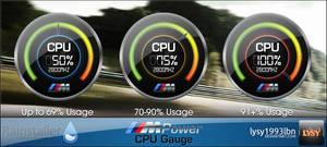 M Power - CPU Gauge