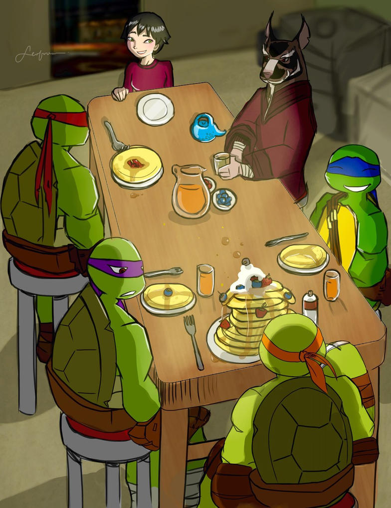 TMNT Fan Fiction (Chapter 19 ) by Dominique-Lefalle on