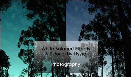 White Balance Effects by NyssaCreative