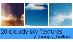 cloudy sky Textures by ghostsheep