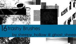 trashy deco Brushes by ghostsheep