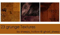 grunge Textureset by ghostsheep