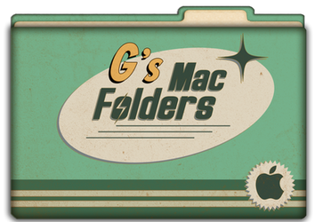 Retro Mac Folders - Complete Set of Mint Folders. by OG-1