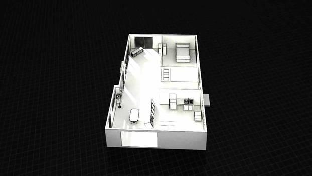 3D House Buildup