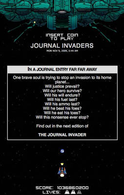 Journal Invaders v1.0