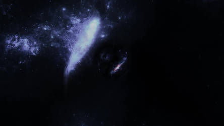 Space wormhole test