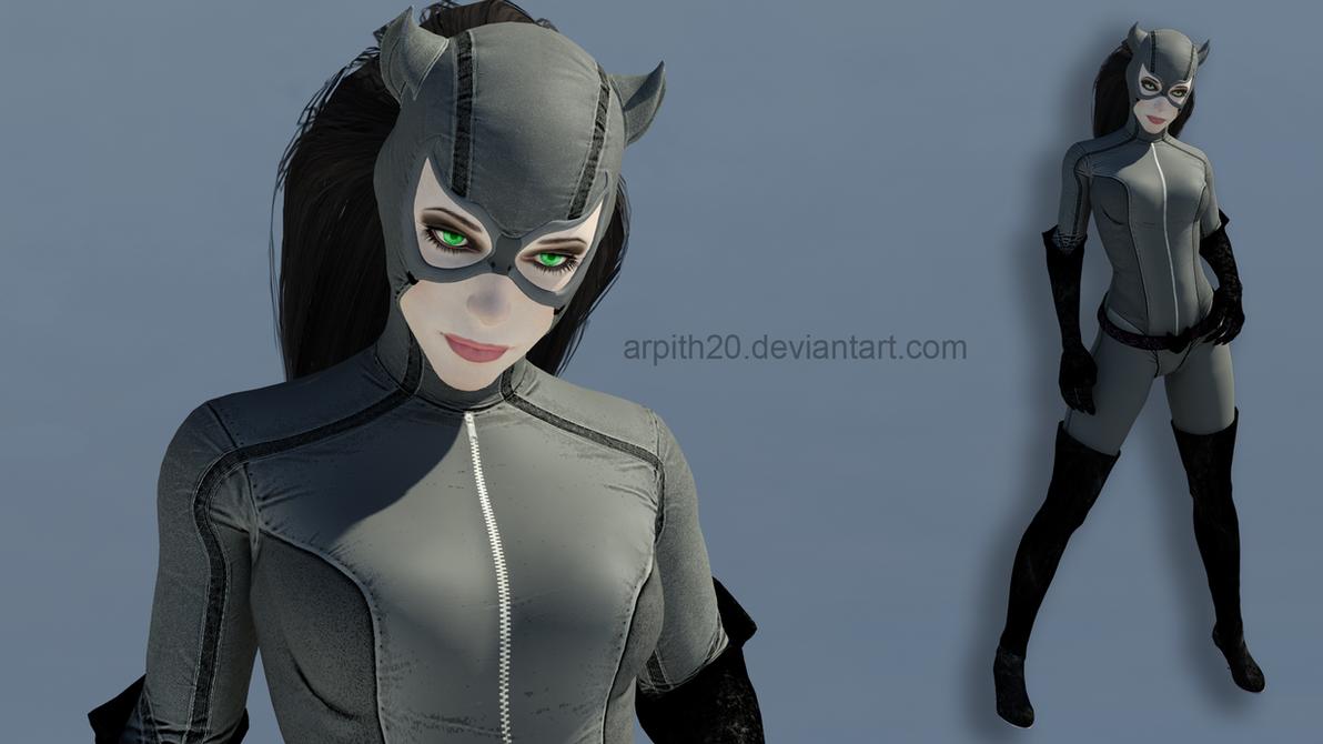 BAK_Catwoman Grey Suit Mod for XPS by arpith20 ... & BAK_Catwoman Grey Suit Mod for XPS by arpith20 on DeviantArt