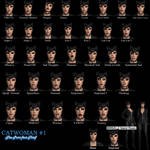 Catwoman Face Pose Pack