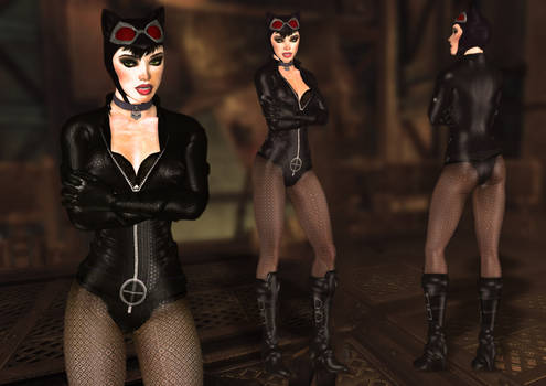 Catwoman Stealth Suit_Mod for XPS and Arkham City