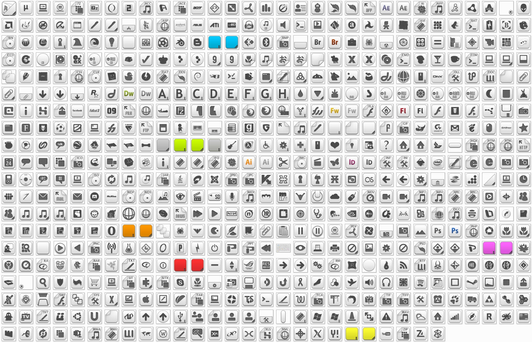 Albook extended 811 icons by StopDreaming on DeviantArt
