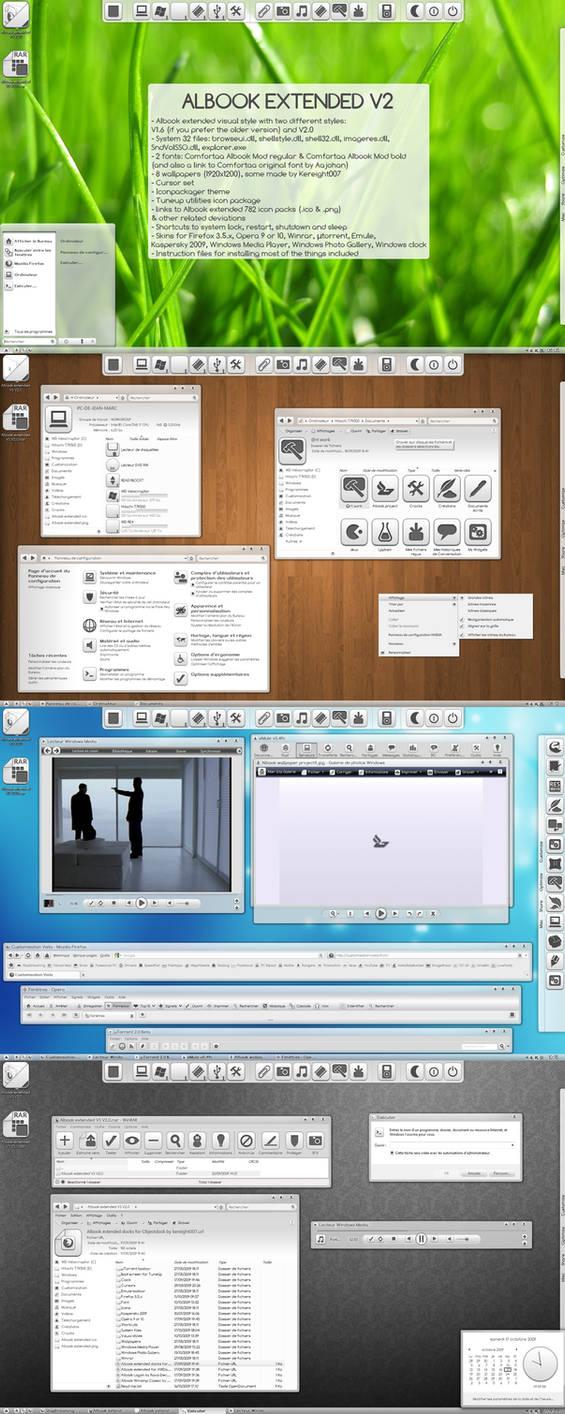 Albook extended VS V2.0
