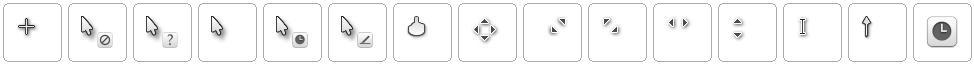 Albook extended cursor set