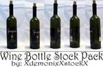 Wine Bottle Stock Pack