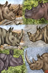 F2U Rhinoceros Headshot Lines