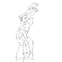 Chun Li stretching by 9tamara9