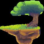 Island-tree