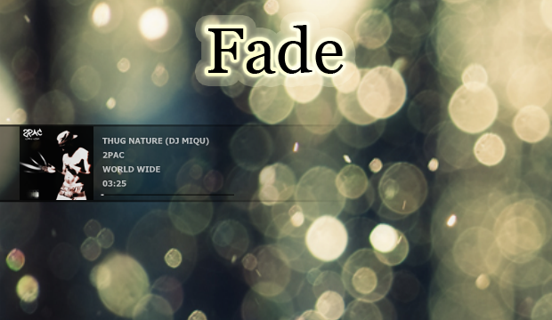 FADE Skin For Cd Art Display by my99