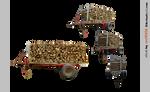 PACK woodtrailer - STOCK