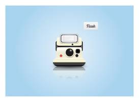 Polaroid Camera Icon by pettermyhr