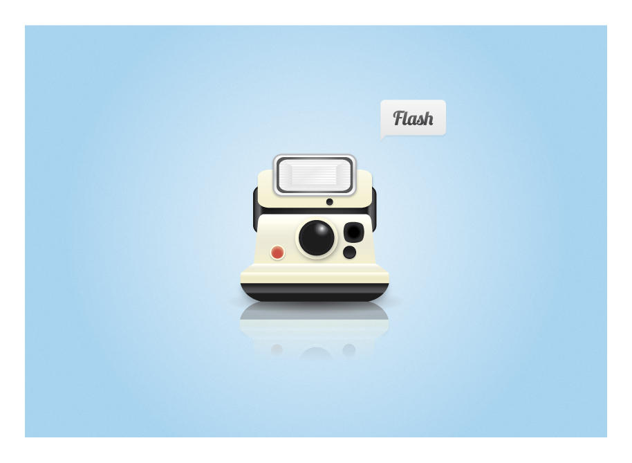 Polaroid Camera Icon by pettermyhr