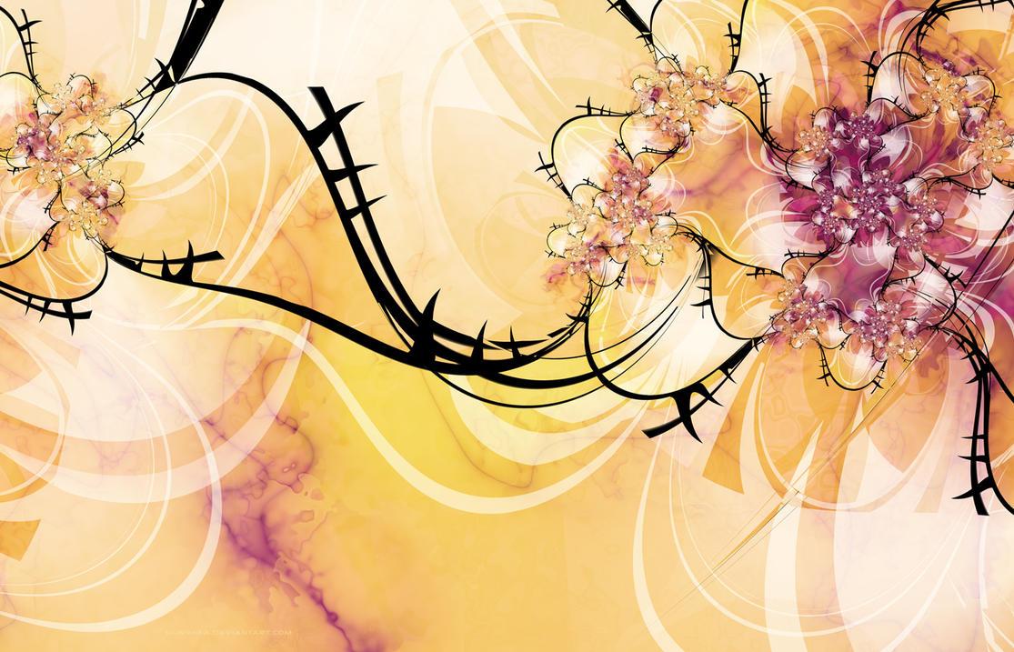 -RoseGardenWallpaper- by silwenka