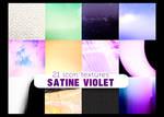 Satine Violet