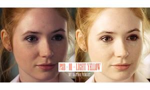 PSD - Amy Pond - Light Yellow