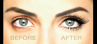 Eyelashes brushes by stock-vedeo