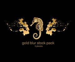 Gold blur stock pack
