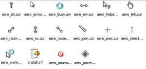 Windows Aero Cursors + Shadow