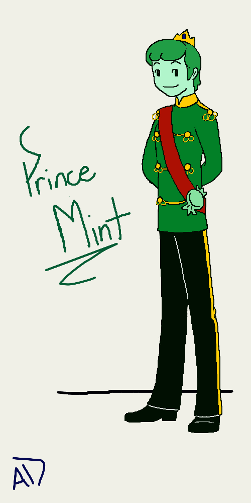 Adventure Time OC: Prince Mint by missyalissy