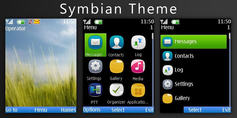 Symbian Theme by h4X0ry0uL34 on DeviantArt