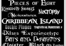 Gothic Fonts by TATURAFA-26