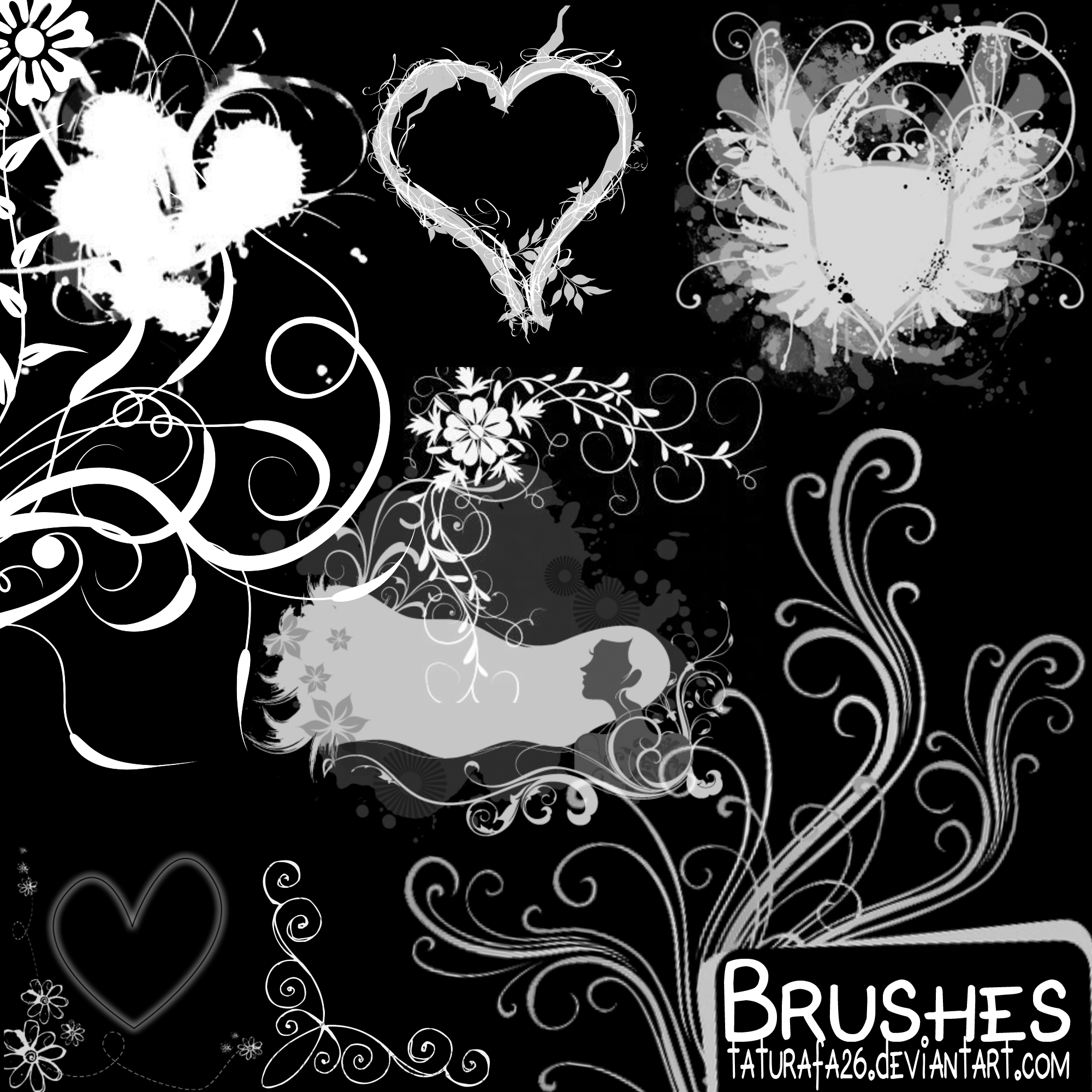 Brushes 1 by TATURAFA-26
